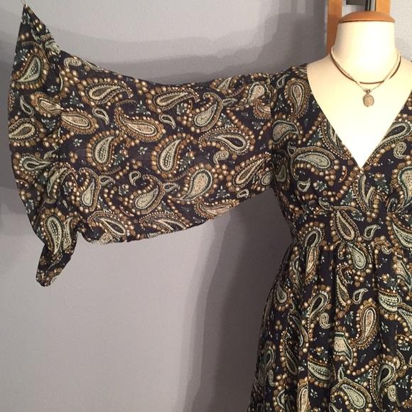 Betsey Johnson Dresses & Skirts - Betsey Johnson Bambi Boho Bell Sleeved Dress